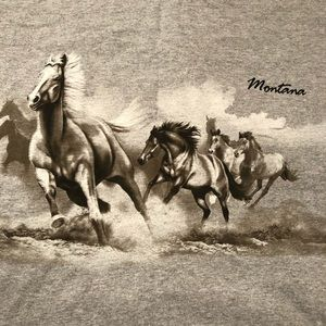 Cool Montana shirt with horses.